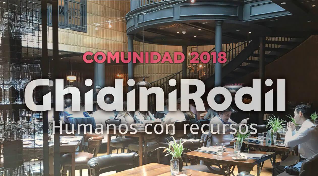 Comunidad GhidiniRodil 2018 | Almuerzo Networking